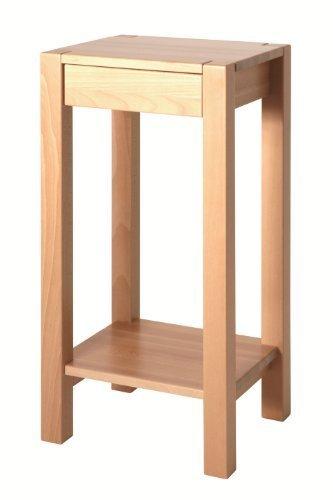 HAKU Möbel 30410 Konsole 37 x 33 x 73 cm, buche gedämpft