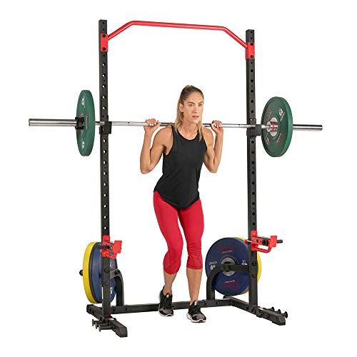 Sunny Health & Fitness Power Zone Squat Stand Rack Power Cage $180 + Free Shipping