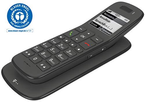 Telekom Speedphone 31 Festnetztelefon (Schnurlos - Großtastentelefon) schwarz