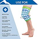 Polar Ice® Standard Knee Wrap, Universal Size – Support Wrap for Cold Therapy & Mild Compression – Lightweight & Easy to Pull On – for Post-Surgery, Rehab, & Physical Activities – Made in USA #4
