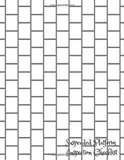 Suspended Platform Inspection Checklist: Scaffold Inspection Log
