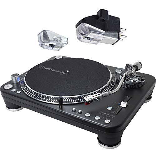 New Audio Technica AT-LP1240-USB XP Direct-Drive Professional DJ Turntable (USB & Analog) with AT-XP...