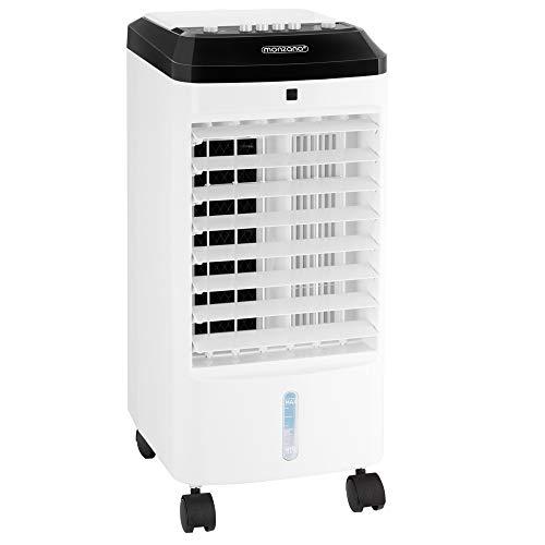 Monzana Klimagerät MZ401 3in1 4L Tank Luftbefeuchter Ventilator Klimaanlage Luftkühler Mobil