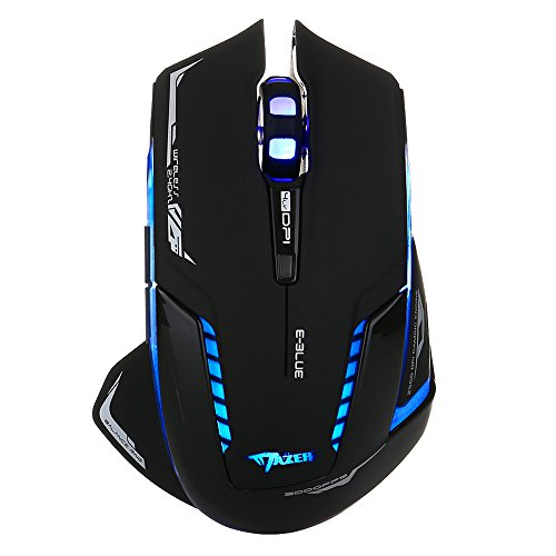 E-Blue Mazer II 2500 DPI Wireless Gaming Mouse (EMS601BKAA-NF)