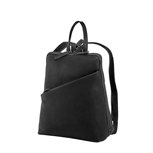 Rada Nature Damenrucksack aus Leder, praktische 2in1-Funktion, als Umhängetasche nutzbar, modisch, eleganter Daypack