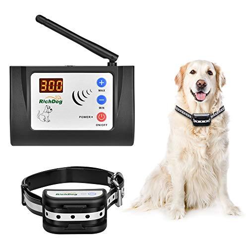 Wireless Fence - Electric Dog Fence Wireless Safe Dog Containment System Adju..