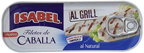 Isabel Caballa al Grill Natural - 7 Paquetes de 85 gr - Total: 595 gr