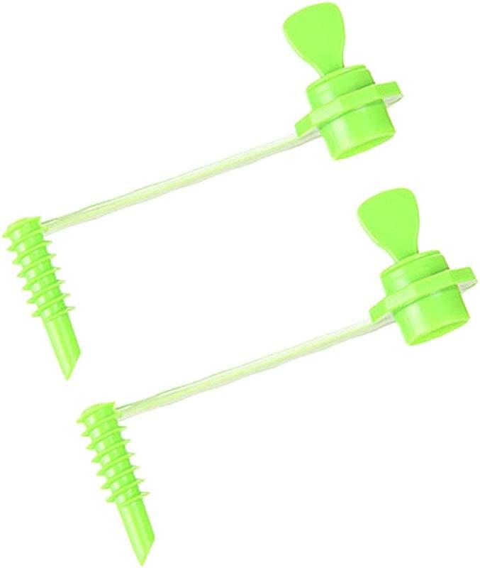 CertainPL 2 Pcs Fruit Vegetable Roll Cutter Vegetable Coilers Potato Radish Spiral Slicer Green