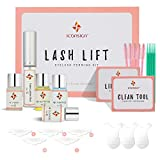 Lash lift kit - Eyelash Perming Kit, Salon Lash Lifting Kit with Disposable Eyelash Mascara Brush Wand, Cotton Swab, and Under Eye Pads, Long Lasting Eye Lash Lifting Perming Set