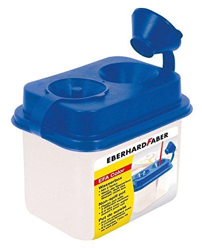 Eberhard Faber 579900 - Wasserbox mit 2 Tanks, blau
