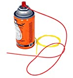 Aerosol Replacement Straws, Flexible Extension, Made in The USA