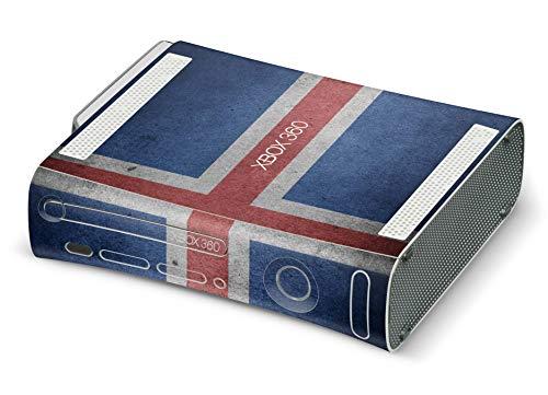 Skins4u Design modding Aufkleber Vinyl Skin Klebe Folie Skins Schutzfolie für Xbox 360 Island Fahne