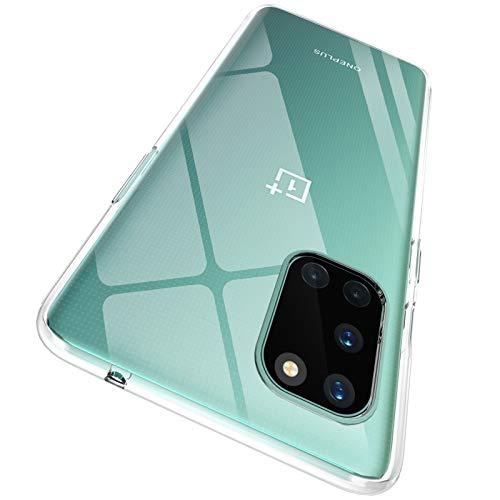 """ORNARTO Crystal Clear Cover OnePlus 8T, Estremamente Sottile Morbida e Protettiva TPU Flessibile Trasparente Custodia per OnePlus 8T(2020) 6,55"""""""