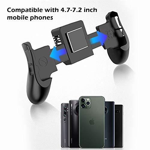 DAIM Teléfono móvil Handle Semiconductor Refrigeración del Ventilador Soporte para iPhone XS MAX XS XR Samsung Radiador móvil Gamepad Controlador