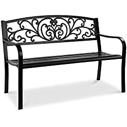 Best Choice Products 50in Outdoor Patio Garden Bench