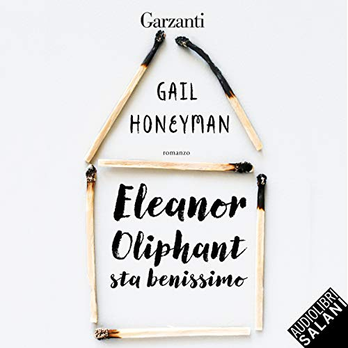 Eleanor Oliphant sta benissimo audiobook cover art