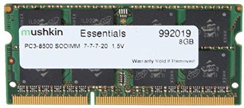 Mushkin Essentials PC3-8500 Arbeitsspeicher 8GB (1066 MHz, 204-polig) SO-DIMM DDR3-RAM