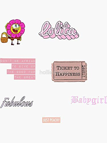 Pink Vsco Pack Sticker - Sticker Graphic - Auto, Wall, Laptop, Cell, Truck Sticker for Windows, Cars, Trucks