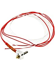 UEETEK 12V 0.4mm MK8 Nozzle Thermocouple Extruder Hot End For i3 3D Printer