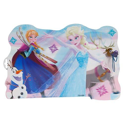 ALMACENESADAN 2010 Mantel Individual Disney Frozen; Producto de plástico; Libre BPA; Dimensiones 43x29 cm
