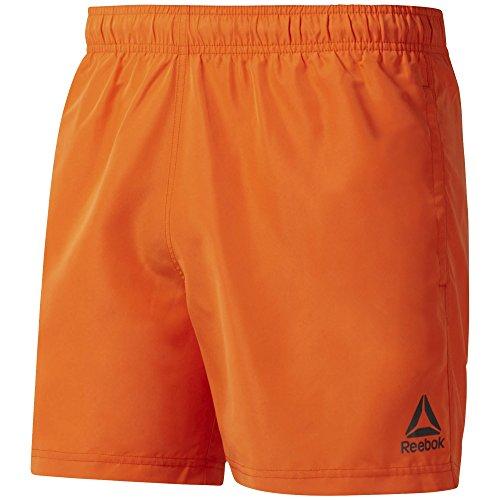 Reebok BW Basic Badehose für Herren M orange
