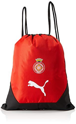 Puma TeamFINAL 21 Gym Bag Gym Bag, unisex_adult, Drawstring Bags, 076580_01, Puma Red-Puma Black, standard size