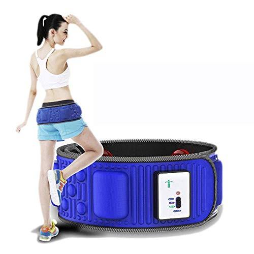 Dr.FITNESS Fascia Addominale Vibrante Dimagrante Massaggio 5 Motori Ideale per Addominali Pancia Braccia e Gambe Magneti Cintura Vibrazione Massaggiante a Elevato Spessore per Donna e UOM