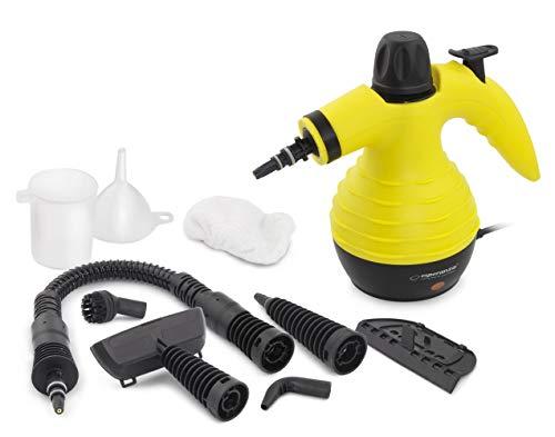 CNCPRINT Limpiador de vapor multiusos 9 en 1 | Limpiador a vapor de mano para eliminar manchas, alfombras, control de chinches de cama, asientos de coche