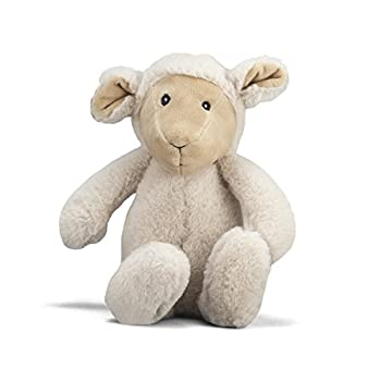 NANDOG My BFF Sheep Squeaky Dog Toy – Plush Puppy Toy for Small and Medium Breed Non-Aggressive Chewers – Soft 15 Inch Crinkle Dog Toy Provides Fun and Companionship