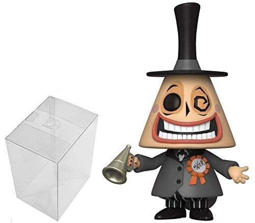 Pop! Disney: The Nightmare Before Christmas - Mayor with Megaphone Bundle with 1 PopShield Pop Box Protector 48181