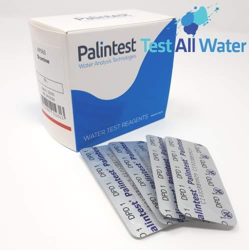 Palintest - Fotómetro de bromo (250 tabletas