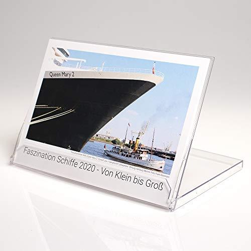 Faszination Schiffe - Von groß bis klein 2020 Tischkalender - Kalender Schiffe
