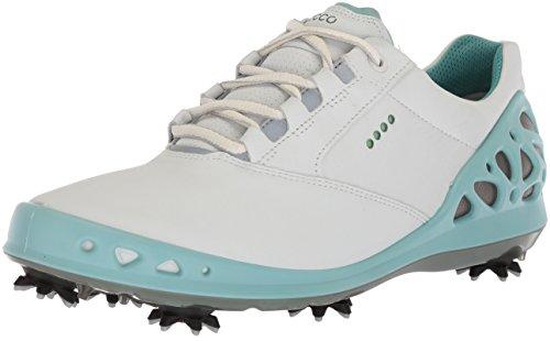 ECCO Cage Damen Golfschuhe Weiß (Weiß 59779), 41 EU