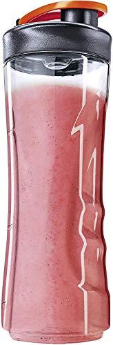 AEG ASBEB1 Flasche für Minimixer (Tritan Trinkflasche, 0,6 Liter, Trinkverschluss, spülmaschinenfest, bruchfest, für Kaltes und Heißes, passend für Sport Mini Mixer, transparent)