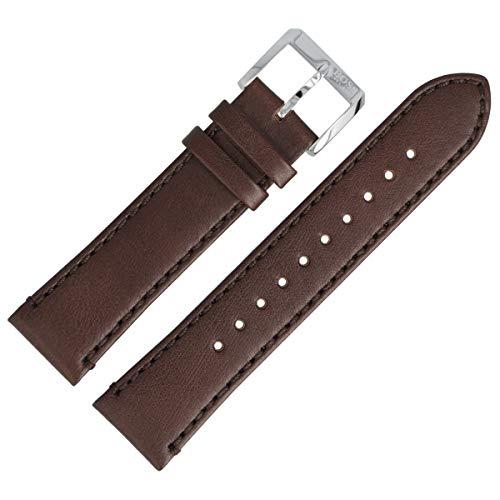 Hugo Boss Uhrenarmband 22mm Leder Braun - 659302689