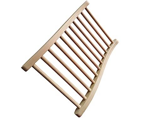 backrest for sauna
