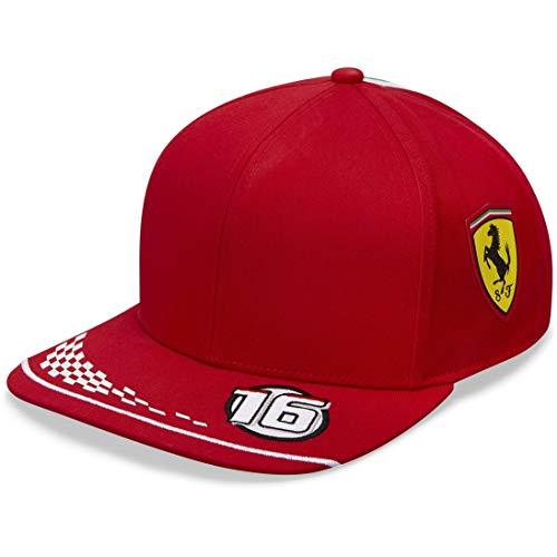Scuderia Ferrari F1 2021 Kids Charles Leclerc Team Hat Red