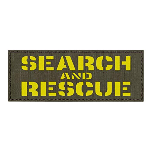 IR Multicam Combat Search and Rescue CSAR 2x3.5 SAR USAF Pararescue Tactical Morale Touch Fastener Patch