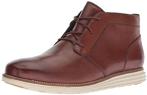 Cole Haan Men's Original Grand Chukka Boot, Woodbury/Ivory, 10 M US