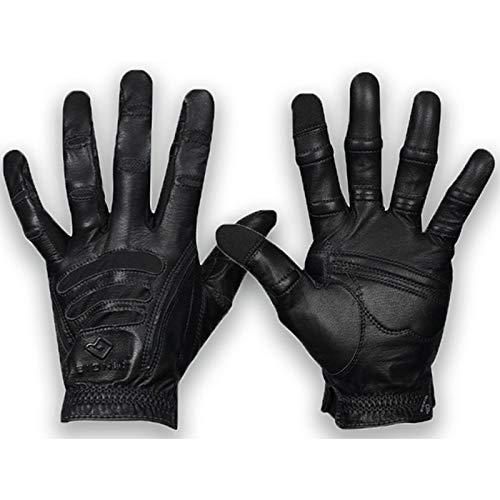 Bionic Herren Handschuhe mit Natural Fit Technologie, Schwarz, Größe L