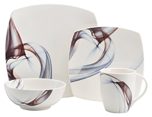 Mikasa 5223389 Kya 4-Piece Place Setting, Service for 1, White