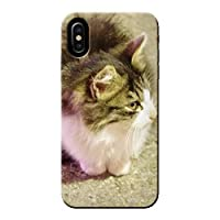 Galaxy A21 UQ mobile SCV49 ケース 猫 CAT ペット ネコ ねこ 薄型 スマホ ハードケース ねこ D ギャラクシー C014202_04