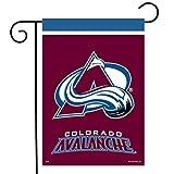 Sparo Colorado Avalanche Garden Flag Hockey Licensed 12.5