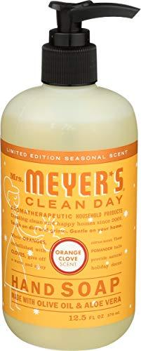 Mrs. Meyer's Clean Day, Hand Soap, Orange Clove Scent, 12.5 Fl Oz