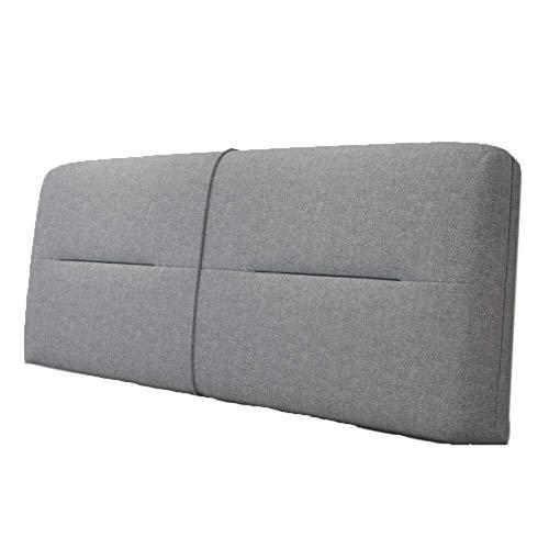 B-fengliu Bett-Rückenpolster Rücken Rückenkissen-weich Kopfteil - Bequeme Wear Resistant Stereoscopic leicht zu reinigen (Color : A, Size : with headboard-180CM)
