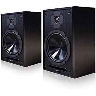 "AVX Audio 6.5 Inch Bookshelf Speaker Pair (AVX Audio 6.5"" Speakers)"