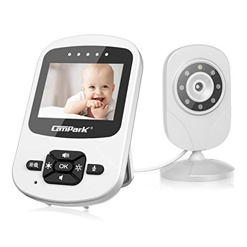 Best Price Campark Video Baby Monitor with Camera and Audio Infant Digital Cam Optics with Infrared ...