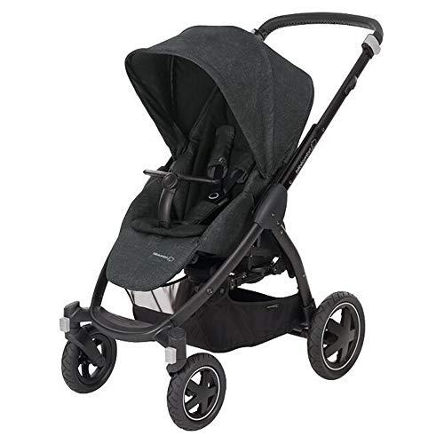 Bébé Confort Stella Nomad Kinderwagen für alle Terrain, Schwarz
