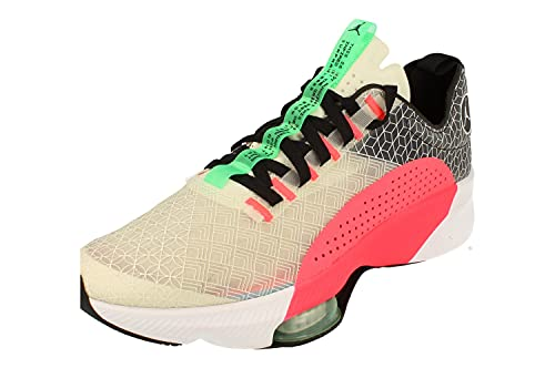 Nike Air Jordan Zoom Renegade Hombre Basketball Trainers CJ5383 Sneakers Zapatos (UK 11 US 12 EU 46, Spruce Aura Black Sail 002)