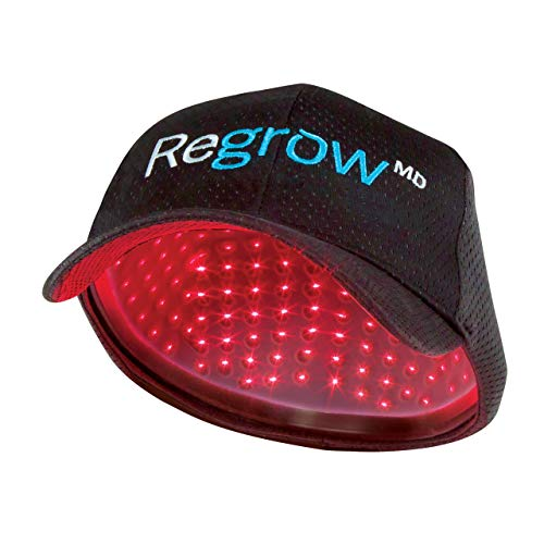 RegrowMD Laser Cap 272 (FDA Cleared). 272 Lasers. Stimulate Hair Growth, Reverse Thinning, Regrow Denser, Fuller Hair. Exclusive BioLight Comfort Design, Superior Treatment.